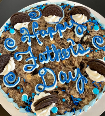 Father's Day Cookie Cake Sweet Blossoms