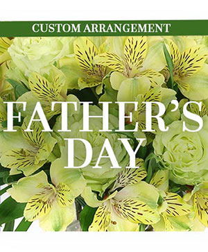 Father's Day Custom Arrangement in Gig Harbor, WA | GIG HARBOR FLORIST TM- FLOWERS BY THE BAY LLC
