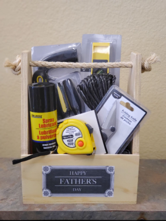 Fathers Day dad basket