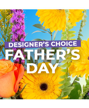 Father's Day Bouquet Designer's Choice in Chamberlain, SD | THE FLOWER BARREL & BALLOONS