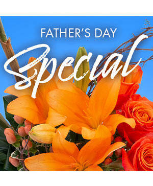 Father's Day Special Designer's Choice in Greensburg, IN | Rainbow Books, Gifts & Flowers