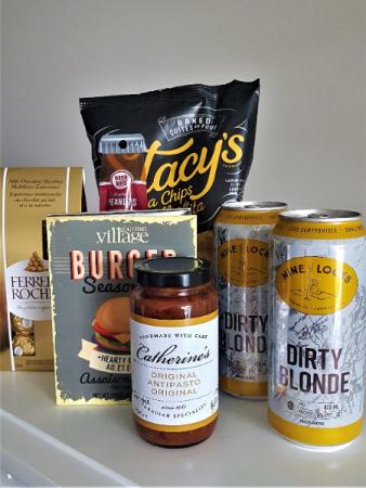 SUMMERTIME BREEZE snacks and beer