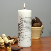 FATHER'S GOODBYE CANDLE