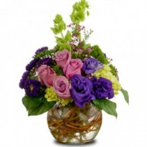 Favorite Colors Bouquet Flower Arrangement