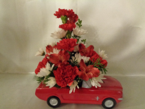 Favorite Mustang Arrangement (local delivery only)