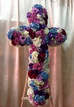 "FC 1 36"" Standing Cross on 6' STAND"