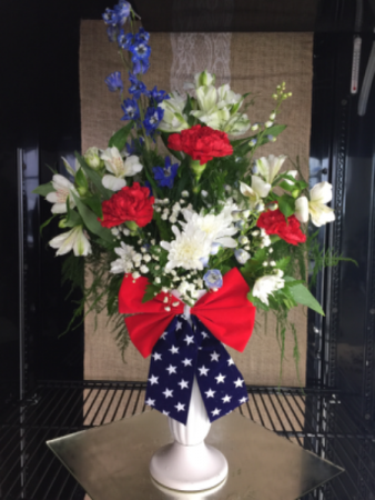 FC007 Ready for delivery Patriotic arrangment