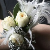 Feather Fun Corsages