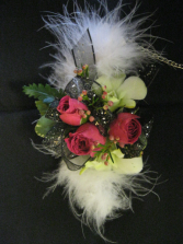 Feathery Chic Wristlet Prom