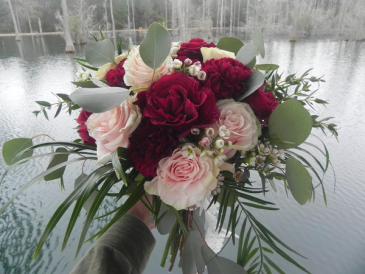 February Forever Wedding bouquet