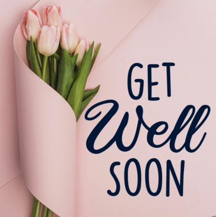 Feel Better Soon Get Well Design