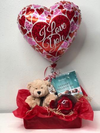 Fuzzy Feelings Gift Basket