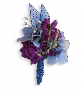 Feel the Beat Prom Boutonniere