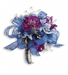 Feel the Beat Prom Corsage