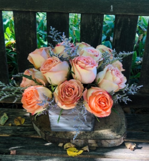 Feelin' Young  Rustic Rose Arrangement  in Iowa City, IA | Every Bloomin' Thing
