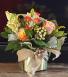 feeling peachy vase arrangement