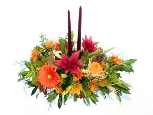Feeling Thankful Table Centerpiece in Invermere, BC | INSPIRE FLORAL BOUTIQUE