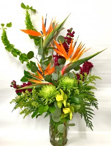Feeling Tropical arrangement