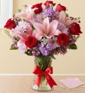 Feilds of Europe Romance Vase