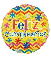 Feliz Cumplenos  Ramo de globos Mensaje Especial de Cumpleaños