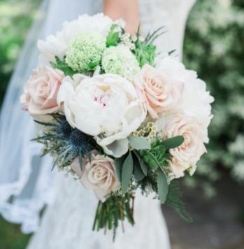 Feminine Country Bouquet Wedding