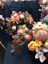 Feminine Fall Silk flowers