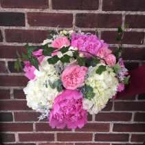 Feminine Hand Tied Bridal Bouquet