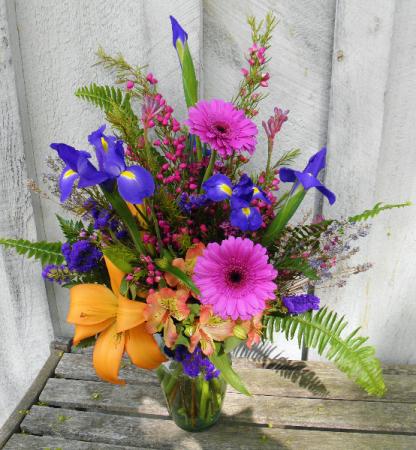 Fern Frills  Festive Spring Flowers