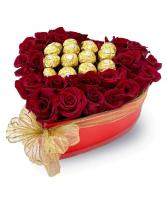 FERRERO ROCHER IN ROSES