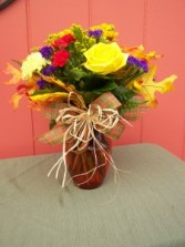 Festival of Color Fall Vase Arrangement
