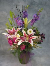 FESTIVAL OF FLOWERS Bouquet in Vase