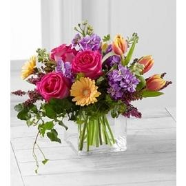 FESTIVAL OF SPRING Vase Arrangement in Longview, TX | ANN'S PETALS
