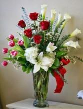 Festive Anniversary Anniversary Flowers