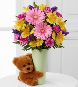 Festive Big Hug Flower arrangement