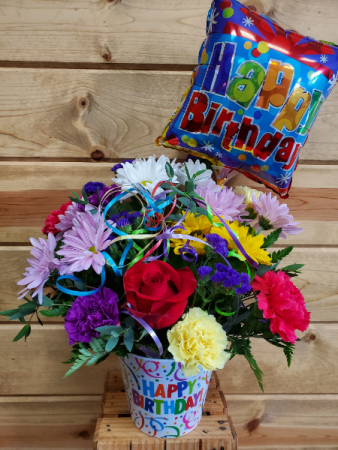 Festive Birthday Bouquet