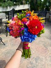 Festive Bouquet Wedding Bouquet