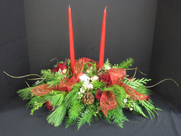 Festive Centerpiece Arrangement