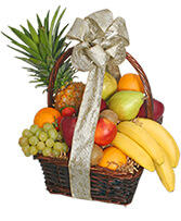 Festive Fruit Basket Gift Basket in Falls Church, Virginia | Geno's Flowers