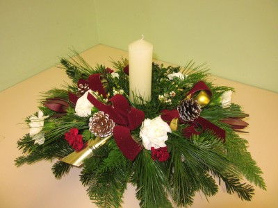 Festive Gathering Centerpiece, Arrangement