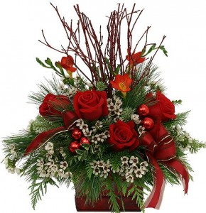 Festive Holiday Wishes  in Canon City, CO | TOUCH OF LOVE FLORIST AND WEDDINGS