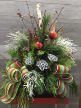 Large Festive Outdoor Christmas arrangement Outdoor arrangement