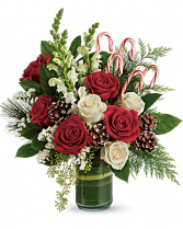FESTIVE PINE Vase arrangement