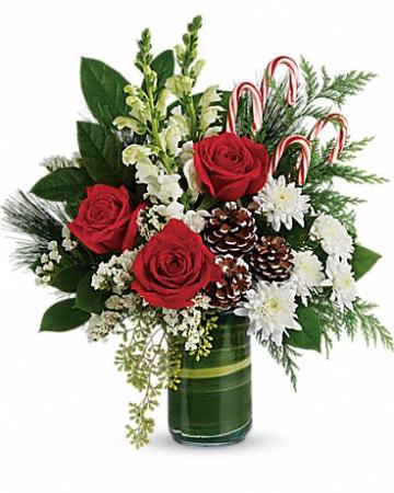 Festive Pines Bouquet