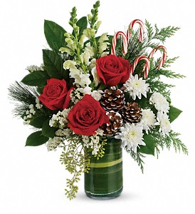 Festive Pines Bouquet Arrangement