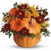 Country Pumpkin Fall Bouquet