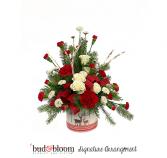 Festive Reindeer Bud & Bloom Signature Arrangement