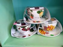 Festive  Tea Cups