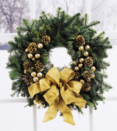 Festive Wreath Christmas Season