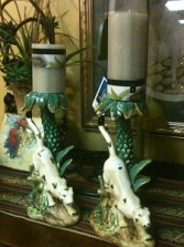 """Fetching"" Candle Sticks In our gift shop"