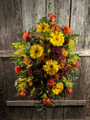 FG standing spray Standing Easel Spray in Barnesville, OH | THE FLOWER GARDENS